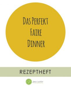 Rezeptheft Perfekt Faires Dinner