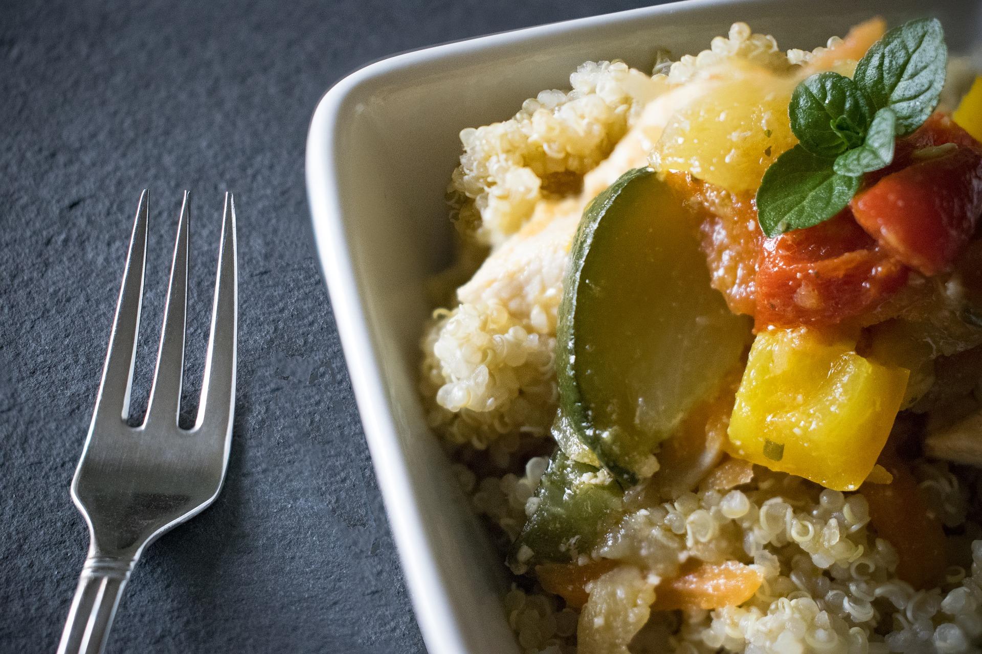 Quinoa Mahlzeit Superfoods