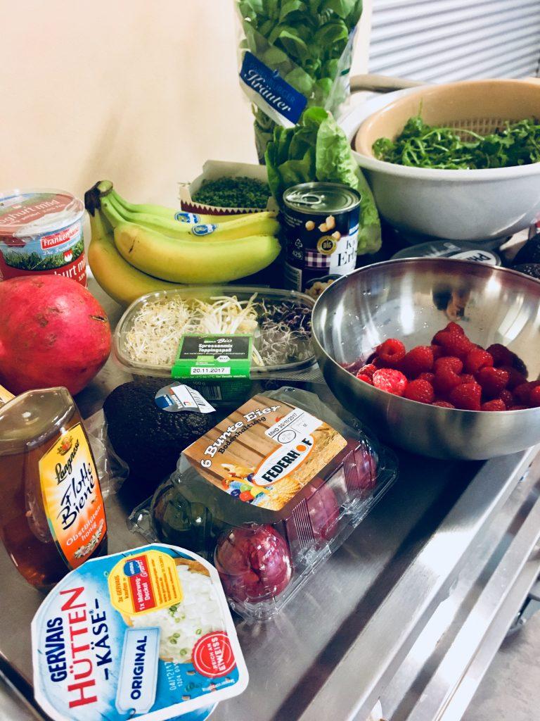 Gesunde und frische Lebensmittel